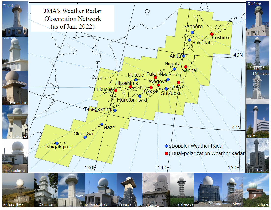 Japan Meteorological Agency Weather Radar