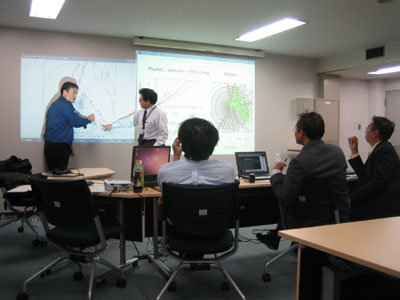 Technical Meeting on Radar Composite Map for Thailand (1)