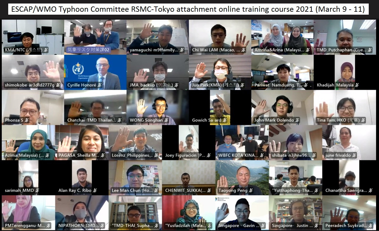 RSMC Training 2020