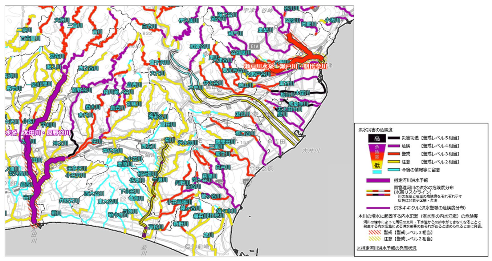 河川 氾濫 マップ