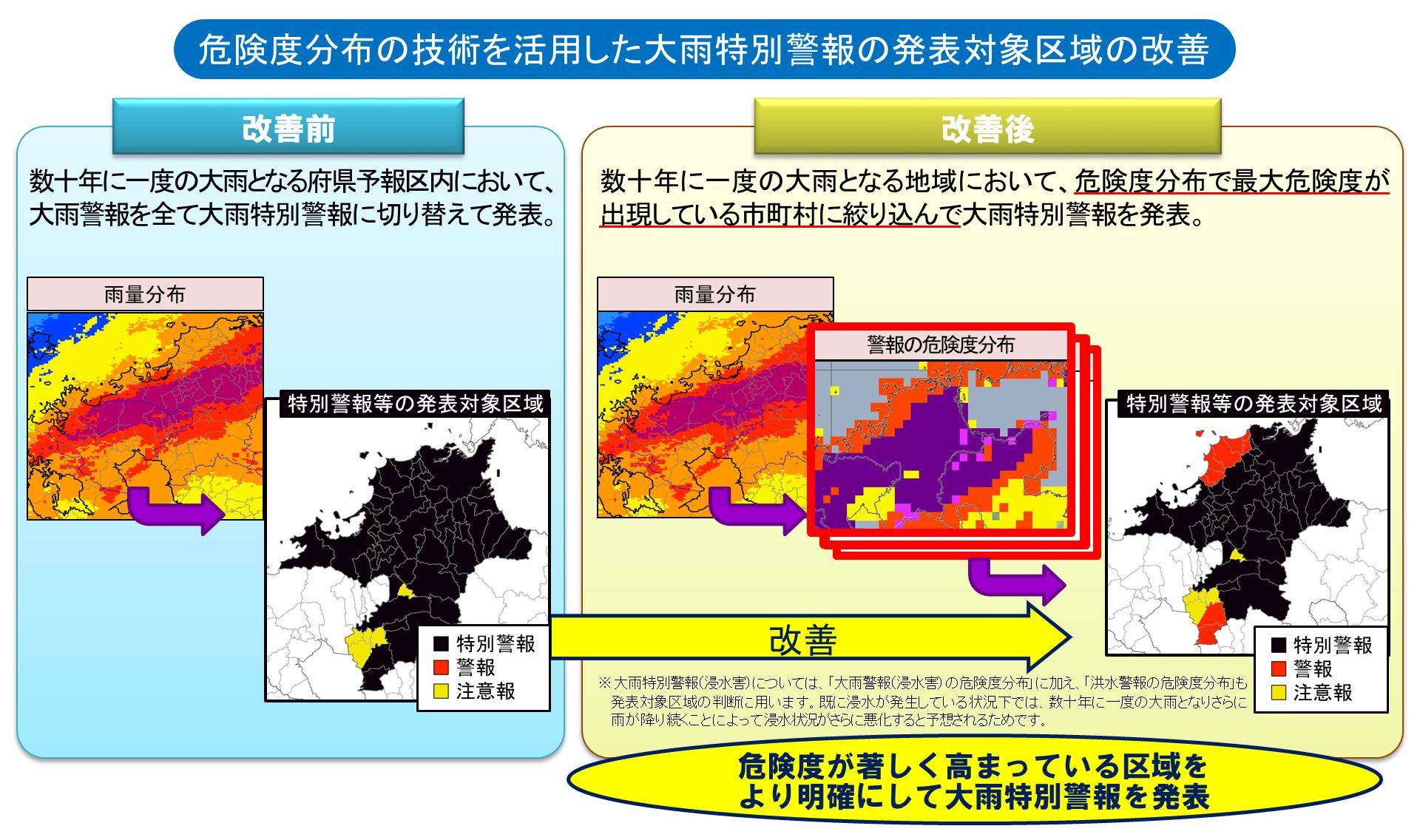 気象庁|危険度分布の技術を活用...