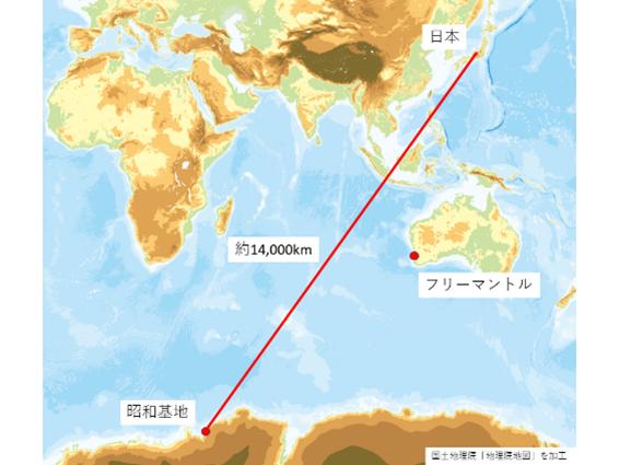 南極 コロナ