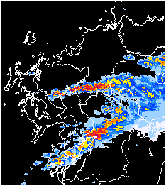 天気 雨雲 レーダー 気象庁