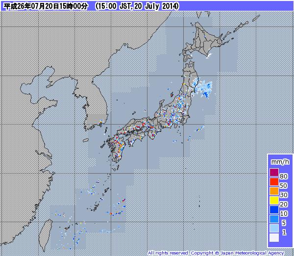 今治 天気 雨雲 レーダー