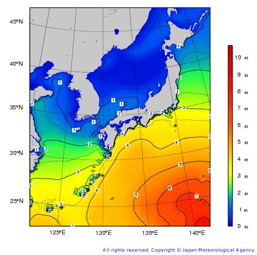 北海道 波 さ の 高 予報